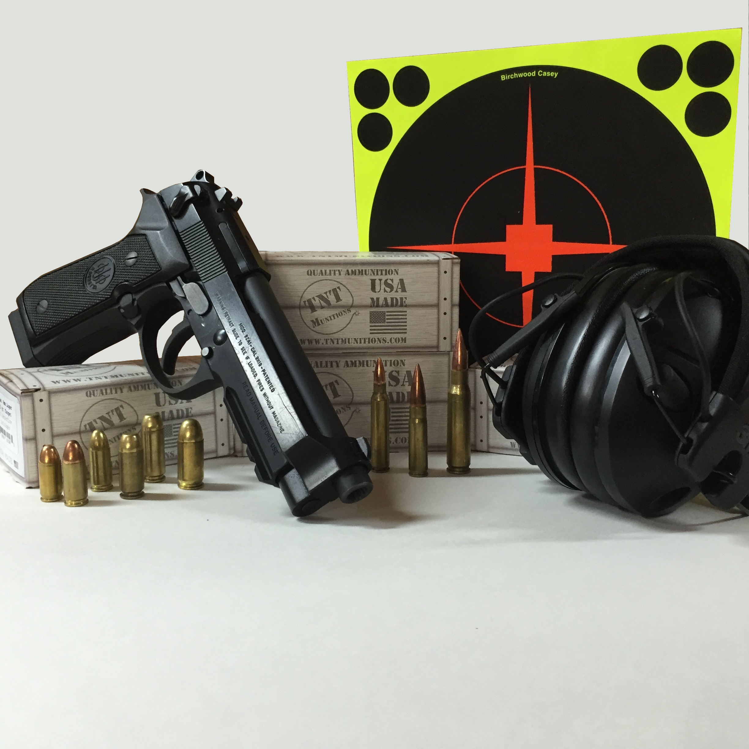 Enter for a chance to win a box of ammo and have some range time on us.